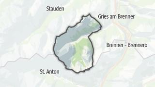 Karte / Obernberg am Brenner