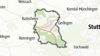 Mapa / Leonberg