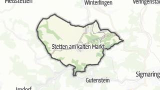 Mapa / Stetten am kalten Markt