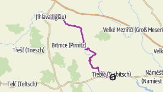地图 / Von Trebic nach Jihlava