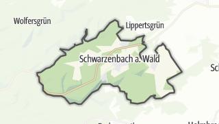 Karte / Schwarzenbach am Wald