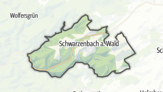 Cartina / Schwarzenbach am Wald
