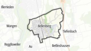 地图 / Bellenberg