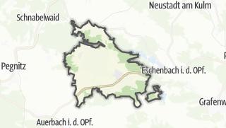Cartina / Kirchenthumbach