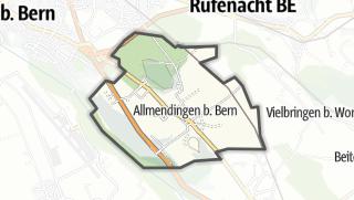 Hartă / Allmendingen