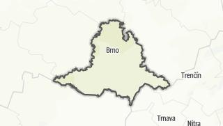 Map / Jihomoravský kraj