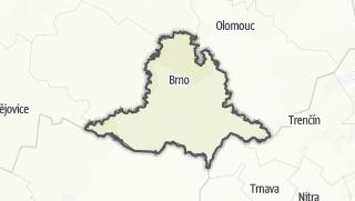 Cartina / Moravia del Sud