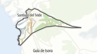 Carte / Santiago del Teide