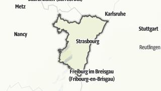 Map / Bas-Rhin