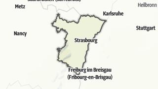 Cartina / Bas-Rhin