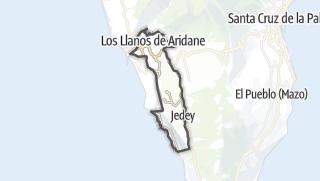 Carte / Los Llanos de Aridane