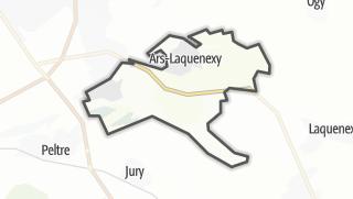Mapa / Ars-Laquenexy