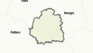 Mapa / Indre