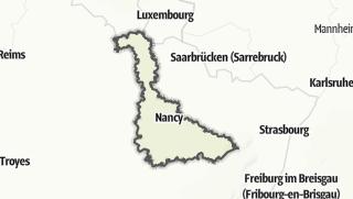 Cartina / Meurthe-et-Moselle