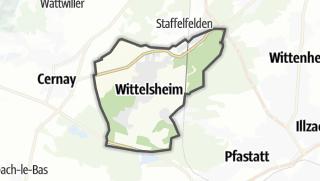 Mapa / Wittelsheim