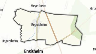 מפה / Réguisheim