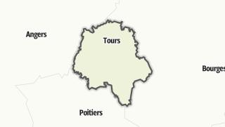 Mapa / Indre-et-Loire
