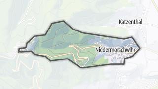 מפה / Niedermorschwihr