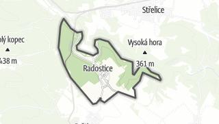 Karte / Radostice