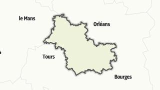 Map / Loir-et-Cher