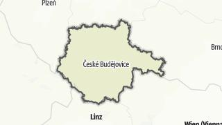 Cartina / Boemia del Sud