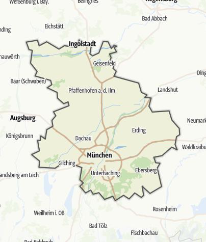 Karte / Münchener Umland