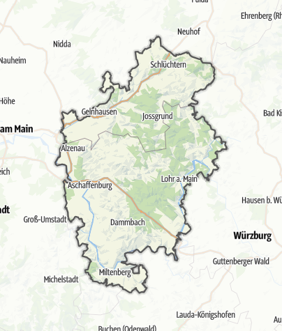 Karte / Spessart-Mainland