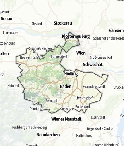 Karte / Wienerwald