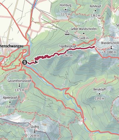 Map / Marienbrücke-Tagelbergkopf-Tagelgerghaus