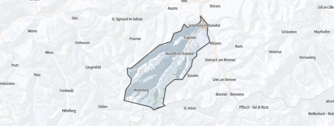 מפה / אתרי סקי בעמק שטובאי