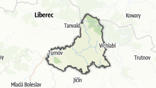 Mapa / Semily