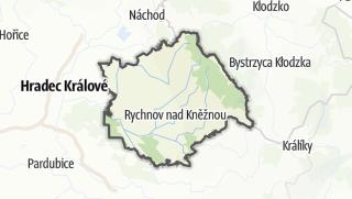 Cartina / Rychnov nad Kněžnou