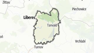 Mapa / Jablonec nad Nisou