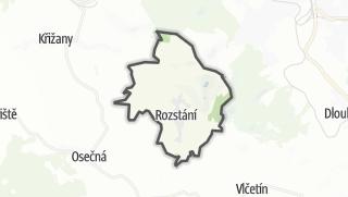 מפה / Svetlá pod Ještedem