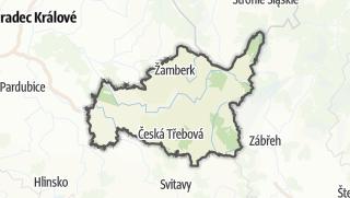 地图 / Ústí nad Orlicí