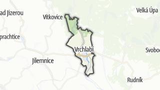 מפה / Vrchlabí