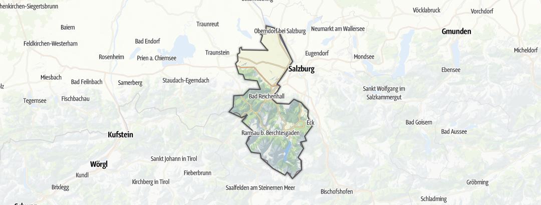 Карта / Рестораны в Berchtesgadener Land