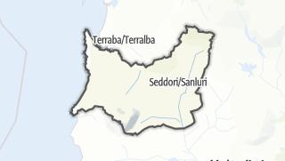 地图 / Medio Campidano