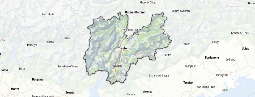 Kart / Løping i Trentino