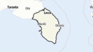 Mapa / Lecce
