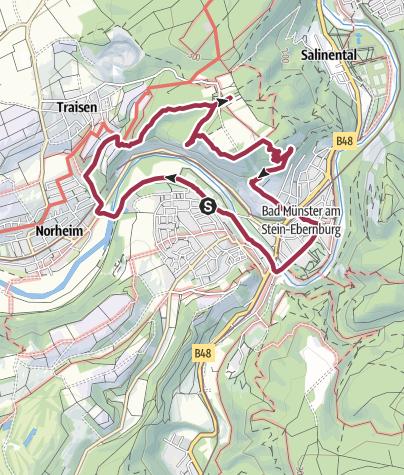 Karte / rotenfelsrunde 8 km