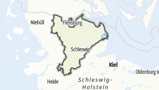 Map / Schleswig-Flensburg