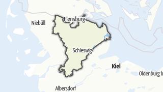 地图 / Schleswig-Flensburg