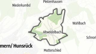 Mapa / Altweidelbach