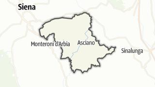 מפה / Asciano