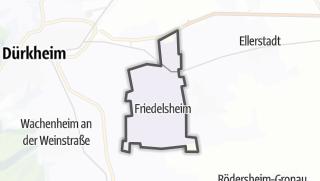 Mapa / Friedelsheim