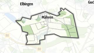 Mapa / Maehren