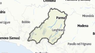 Mapa / Parma