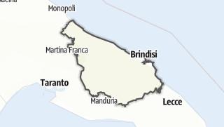 Mapa / Brindisi