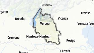 Karte / Verona